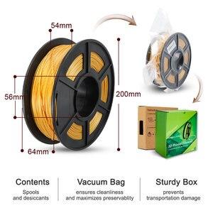 Image 5 - Filamento per stampante 3D SUNLU PLA Plus PLA 1.75mm arcobaleno 1KG con bobina di seta PLA filamento 3D materiale di stampa 3D