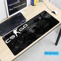 Laumans90X40CM tapis de souris grande taille anti-dérapant en caoutchouc naturel PC ordinateur jeu tapis de souris tapis de bureau pour LOL surprise cs go DOTA