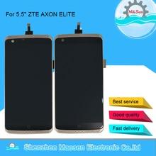 الأصلي M & Sen 5.5 ل ZTE AXON ELITE A2015 A2016 شاشة LCD عرض + اللمس محول الأرقام الإطار ل ZTE A2015 شاشة الكريستال السائل