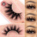 DramaU 36Styles 25mm False Mink Eyelashes 10Pairs Vegan Lashes Fluffy Volume Natural Faux 3D Strip Lashes Bulk Wholesale