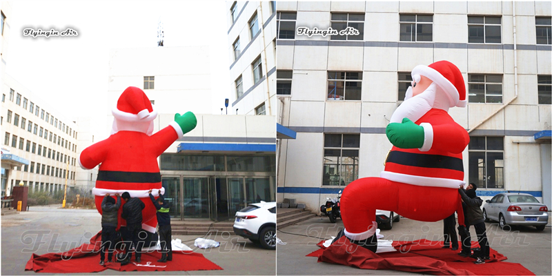inflatable christmas santa claus2_副本