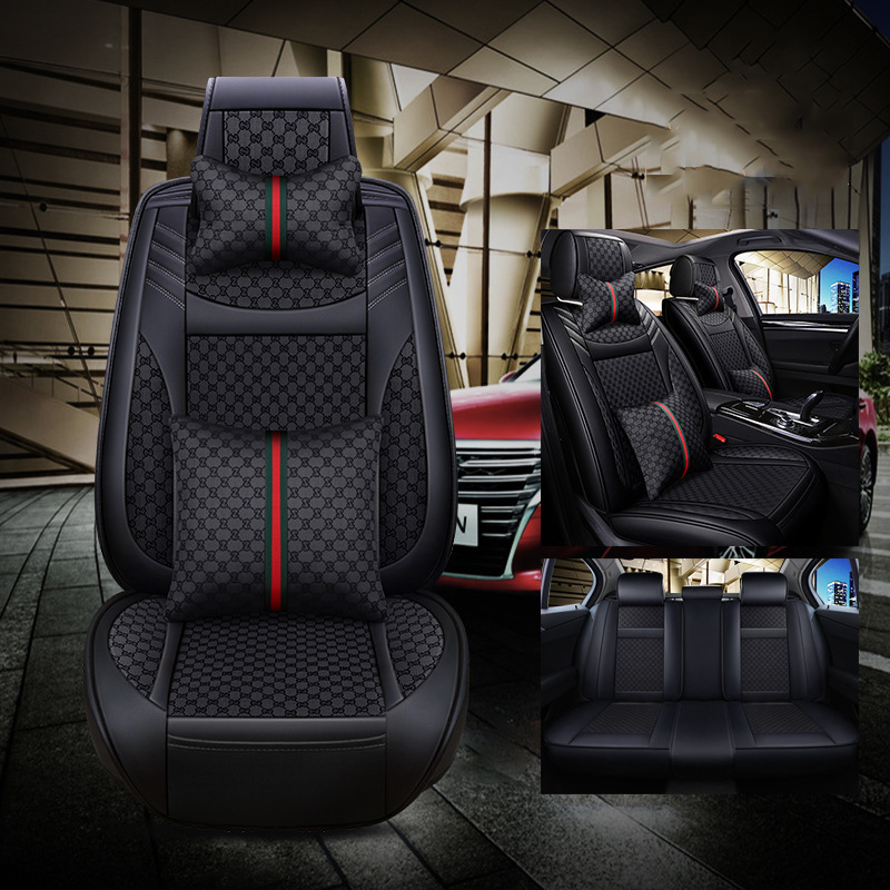 ZRCGL Universal Flx Car Seat covers for Porsche All Models Cayman Macan Panamera Cayenne Boxster 718 car styling accessories
