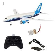 DIY EPP Remote Control Aircraft RC Drone Boeing 787 Fixed Wing Plane Kit Toy six-axis gyroscope Remote Playing toys gift for kid цена и фото
