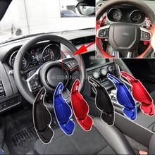цена на 2pcs High Quality  Car Steering Wheel Shift Paddle Shifter Extension For Jaguar F-TYPE 2013-2019