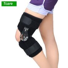 Tcare 1 sztuka staw kolanowy orteza pomocnicza orteza/regulowana/więzadło medyczne uraz sportowy szyna ochraniacz na złamanie kolana S,M,L