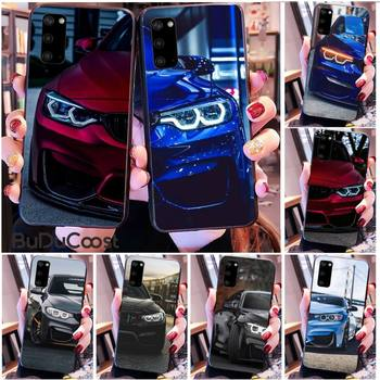 Kenzoe Blue Red Car for Bmw Phone Case for Samsung S20 plus Ultra S6 S7 edge S8 S9 plus S10 5G image