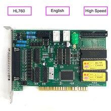 Original edm hl cartão fio sistema de controle corte 760 versão em inglês para a máquina de corte de fio de alta velocidade