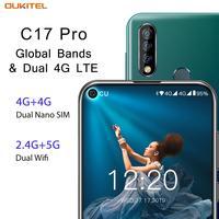 """19 OUKITEL C17 Pro 6.35"""" 19:9 Android 9.0 Mobile Phone MT6763 Octa Core 4G RAM 64G ROM Fingerprint 3900mAh Triple Camera Sma (5)"""