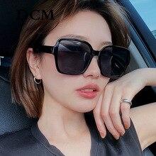 DCM Oversize Luxury Square Sunglasses Women Vintage Big Sun