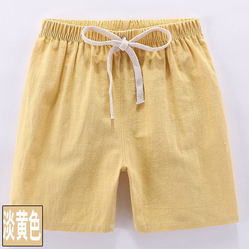 VIDMID boys girls cotton candu color shorts kids children cartoon colorful trousers clothes boys shorts girls trousers 4146 02 6