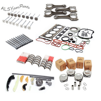 YIMIAOMO OEM 06H107065Bs 2.0T piston assembly and repair kit 21MM and 13-piece sleeve size tile connecting rod valve screw 1400