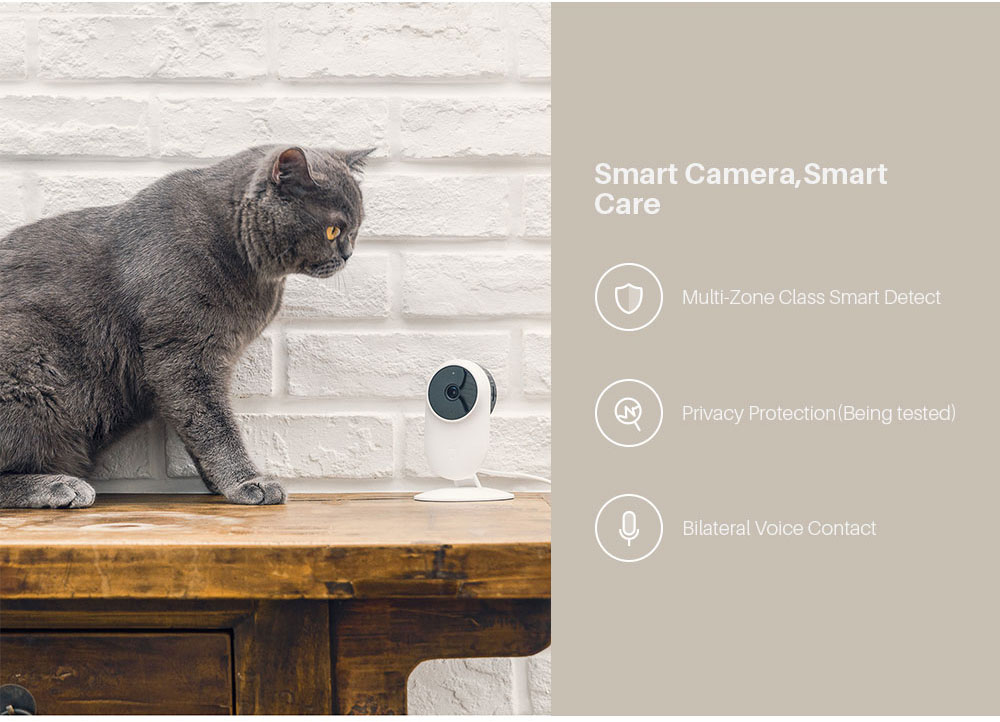 Xiaomi Mijia Smart Home IP Webcam 2.4G5.0GWiFi Wireless 1080P 130 Degree Wide Angle 10m Infrared Night Vision Cam APP Control (12)