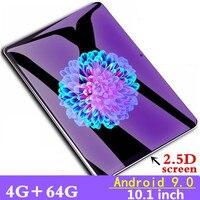 10,1 дюймов 3g 4GLTE телефонные звонки планшеты Восьмиядерный планшетный ПК Android 9,0 планшет 4G ram + 64G rom WiFi gps Dual SIM pc планшет FM GPG
