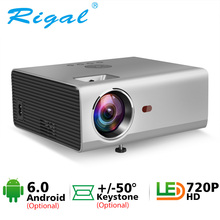 Rigal RD825 Mini Projector Native 1280 x 720P LED WiFi 3D Projector