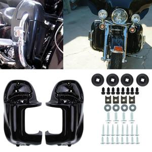 For Harley Touring Road King Electra Glide Leg Fairing Lower Vented ABS Body Frame Kit Lower Panel(China)