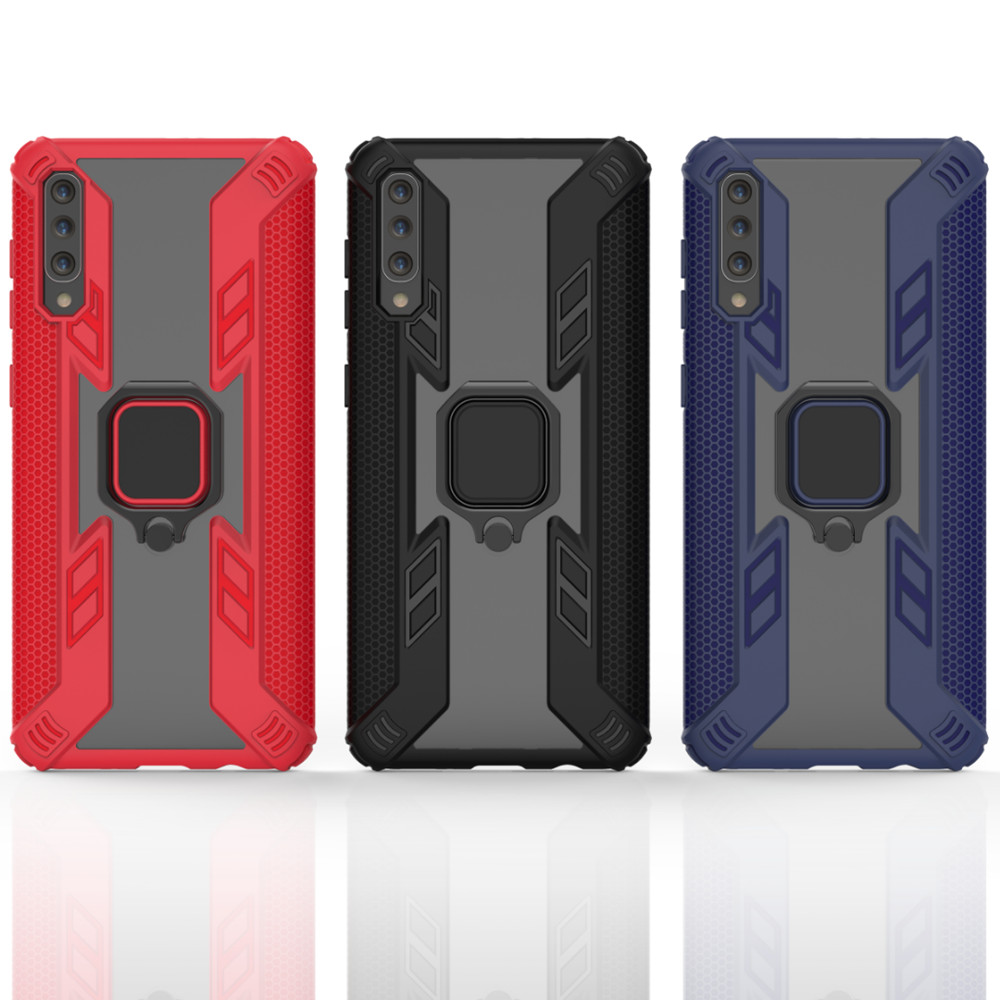 Shockproof Armor Case For Samsung Galaxy A50 Case 6 4 quot For Samsung A 50 A30 Finger Ring Holder Phone Cover Coque KONSMART in Fitted Cases from Cellphones amp Telecommunications