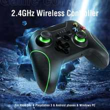Manette de jeu sans fil, 2.4 ghz, pour Xbox One, PS3, Android, pour smartphone, Win PC 7/8/10