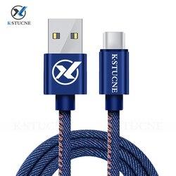 USB typ C szybki kabel ładujący do Samsung Galaxy S10 S9 S8 Plus Xiaomi mi 9 szybkie ładowanie USB C ładowarka telefon komórkowy przewód danych w Ładowarki do telefonów komórkowych od Telefony komórkowe i telekomunikacja na