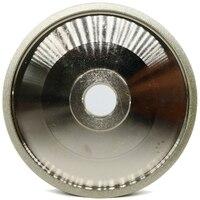 HHO 150 Grit Cbn Grinding Wheel Diamond Grinding Wheels Diameter 150Mm High Speed Steel For Metal Stone Grinding Power Tool H5