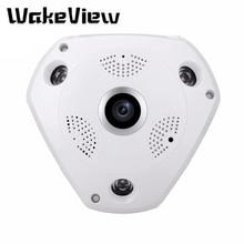 цена на WakeView 2MP 4MP Panoramic Fish Eye IP Dome CCTV Camera Indoor Night Vision Home Security Analog Video Surveillance Wide Angle