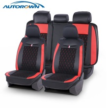 Autorown Universele Auto Seat Cover Voor Mercedes Toyota Hyundai Lexus Lada Pu Leather Covers Waterdichte Auto Interieur Accessoires
