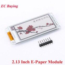 2,13 дюймовый электронный бумажный модуль E-Ink дисплей экран модуль для Arduino E бумага E Ink E бумага черный красный белый цвет SPI электронный DIY