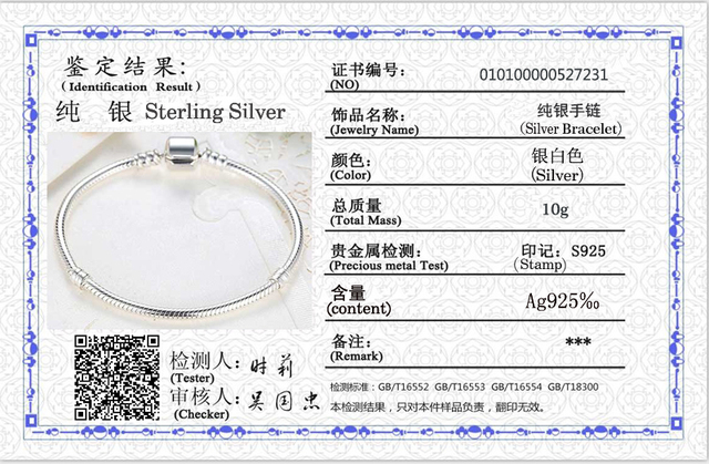 LMNZB 100% Original 925 Sterling Silver Snake Chain Bangle & Bracelet With Silver Certificate 16-23CM Bracelet for Women LFH005 6