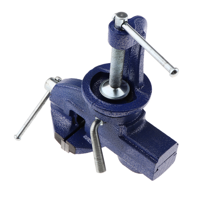 Чугунный вращающийся на 360 ° Мини ювелирный зажим для хобби на стол тиски инструмент тиски портативный DIY ручной работы хобби ремесло