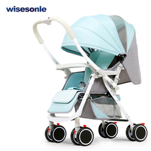 Wisesonle baby stroller two way baby