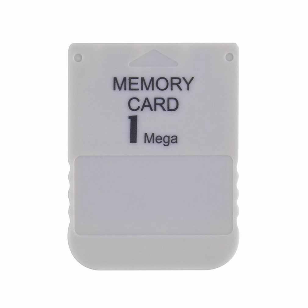 Ps1 1 mb 메모리 카드 마이크로 카드 미니 휴대용 게임 스토리지 카드 기계 전용 메모리 카드 스토리지 도구