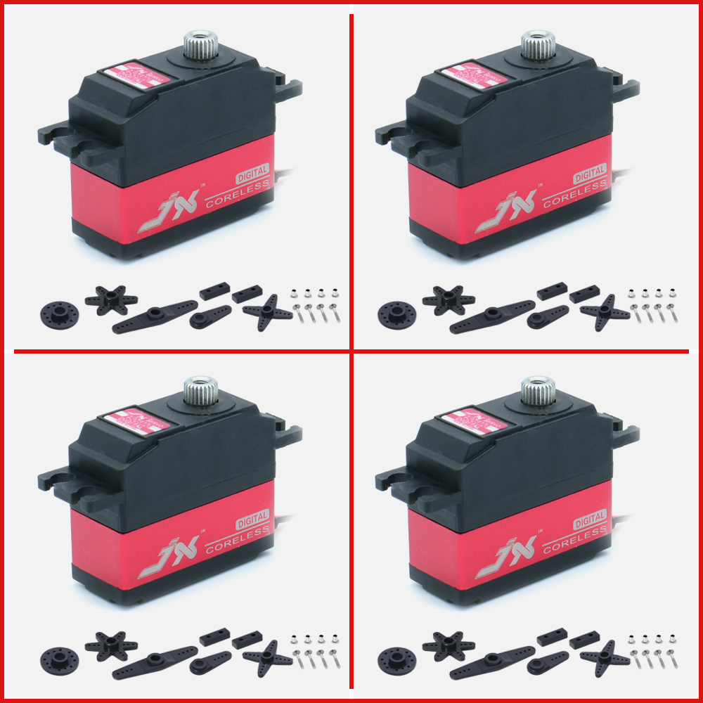 4PCS JX Servo PDI-2506MG 25g 6.6kg Metal Gear Digital Coreless Servo For 1/10 1/8 RC Helicopter Fixed-wing Airplane Parts image