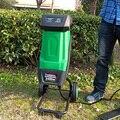 2400 Вт/высокая мощность садовые измельчители высокой емкости Деревянный/ветка/лист садовый Электрический измельчитель
