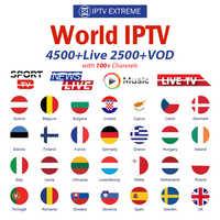 8000 In Diretta Europa IPTV Abbonamento Rocksat Francia REGNO UNITO Tedesco Arabo Olandese Francese Polonia Portogallo Smart TV IPTV M3U Per Android