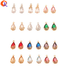 US $11.57 30% OFF|Cordial Design 50Pcs 9*18MM Jewelry Accessories/Crystal Pendant/Charms Jewelry/Earring Making/DIY/Hand Made/Earring Findings-in Jewelry Findings & Components from Jewelry & Accessories on AliExpress