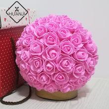 HUANJI Socket Rose lampa stołowa prezent urodzinowy prezent na walentynki romantyczny kreatywny prezent energooszczędne światło nocne tanie tanio CN (pochodzenie) D3-305 36 v Żarówki led ART DECO 0-5 w
