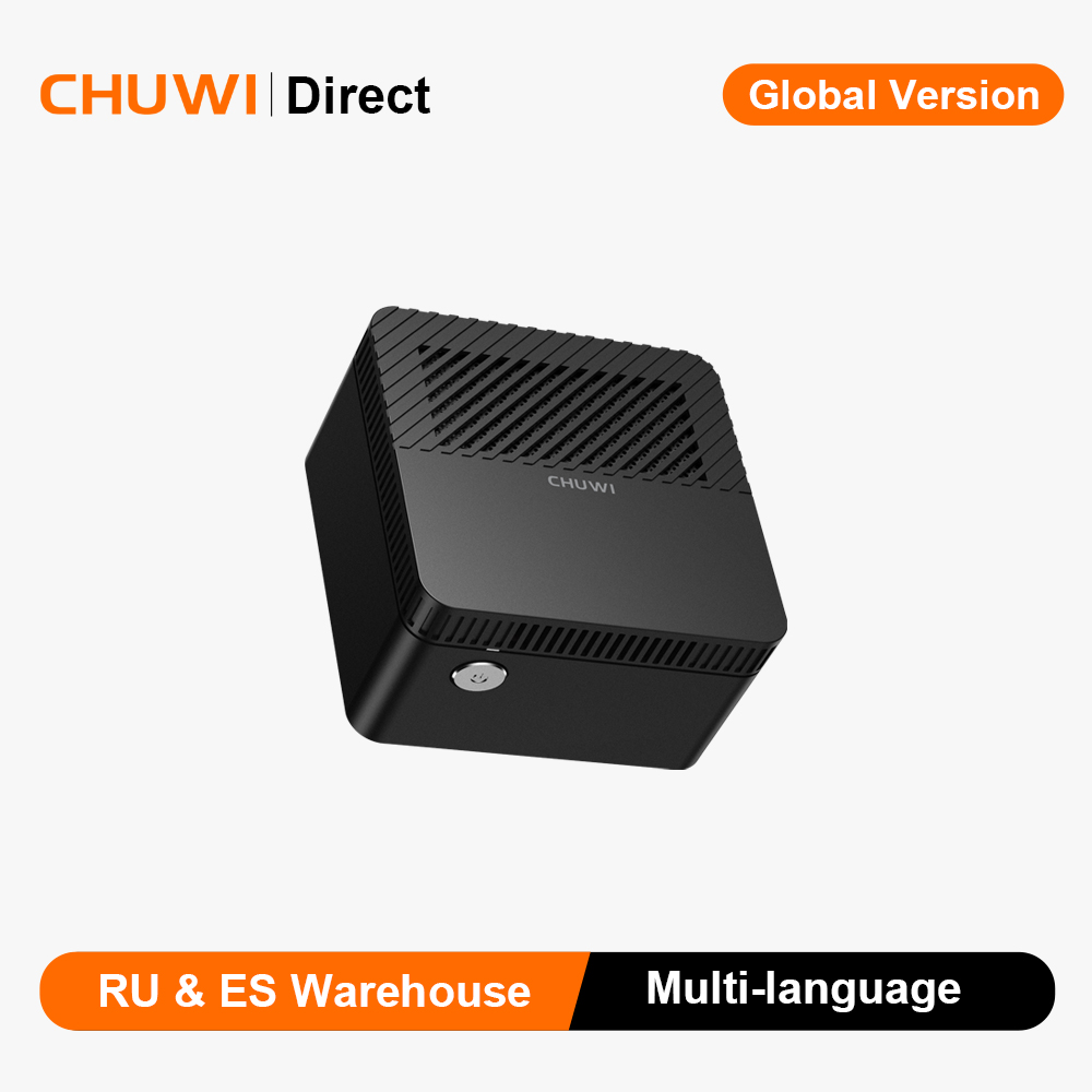 CHUWI LarkBox мини настольный компьютер Intel J4115 четырехъядерный Windows 6 ГБ 128 ГБ мини ПК HDMI двухдиапазонный Wifi