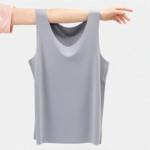 2021 New Men's 60S Modal Breathable Vests Solid Elasticity Slim Sleeveless Home Wear High Quality Summer Cool Sleepwear Tops