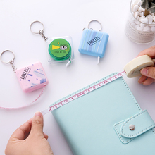 lovely mini tape portable cute measuring waist accuracy tool ruler measuring small soft ruler tape measure school office supply