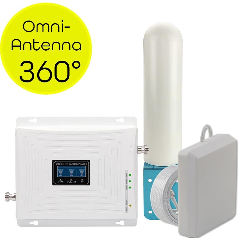4g signalförstärkare GSM 2g 3g 4g cellulär signalförstärkare Mobiltelefonrepeater 4g Internetförstärkare Omni riktningsantenn