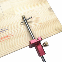 Woodworking scribe Adjustable Wire Drawing Machine Woodworking Marking Tool Carpenter Scriber Marking Device