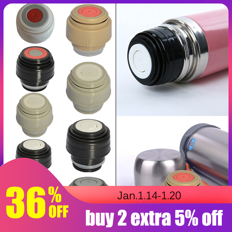 Plastic Thermos Lid Vacuum Flsak Cover Thermocup Outdoor Travel Cup Flask Cover Thermose Accessories 4.5/5.2cm