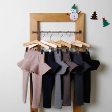 Хлопковые брюки для девочек детские леггинсы Корейская версия