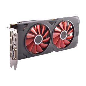 Image 3 - XFX AMD Radeon RX 570 8GB 그래픽 카드 GPU RX570 8GB DDR5 256Bit PC 비디오 카드 데스크탑 컴퓨터 게임 OW PUBG 비디오 카드 사용