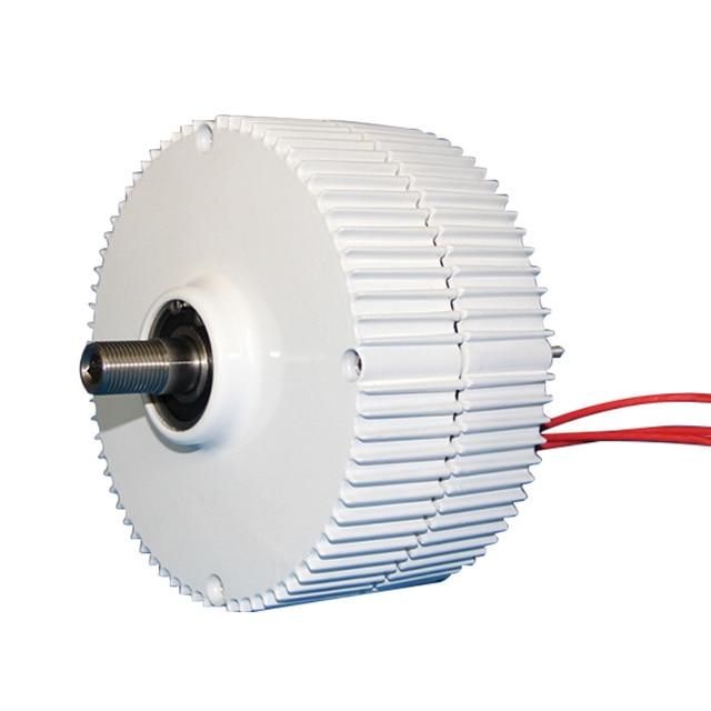 Generator 300W 400W 500W 600W 12V 24V 48V 3 Phase Gearless Permanent Magnet AC Alternators For Wind Water Turbine Diesel Engine 5