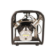Smokin 4500Psi çift silindir PCP elektrikli Rir pompası yüksek basınçlı Paintball hava kompresörü havalı tüfek için 6.8L tankı 220V 110V