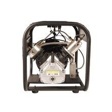 TUXING 4500Psi podwójny Cylinder PCP elektryczny Rir pompy wysokiego ciśnienia Paintball sprężarki powietrza na karabin pneumatyczny 6.8L zbiornik 220V 110V