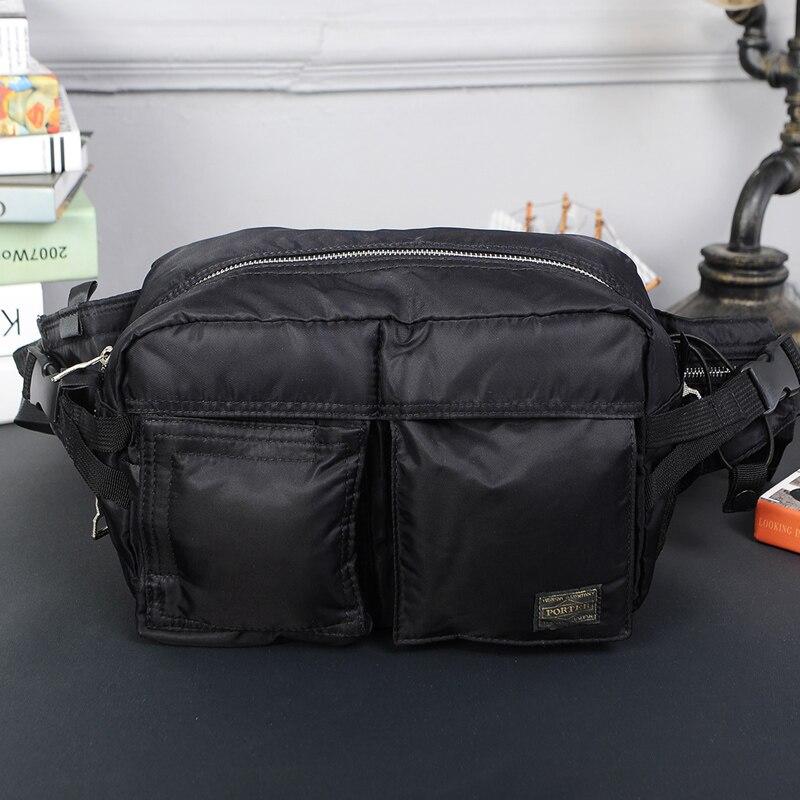 Head Porter Waist Bags Men Women Unisex Casual Waist Bag Outdoor Sport   Multifunction Japan 26/18/12