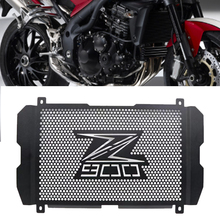 цена на Motorcycle Accessories Radiator Grille Cover Guard Stainless Steel Protection Protetor For Kawasaki Z900 Z 900 2017 2018 2019