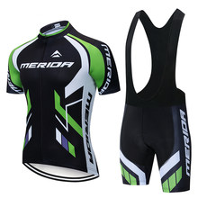 New Summer MERIDA Traje Ciclismo Ropa Hombre Bike Clothes Top Racing Jersey Cycling Jacket Short Sleeve Uso In Biciclett