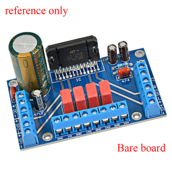 Power Amplifiers TDA7388 Four Channel 4x41W Audio DC 12V BTL PC Car AMP PCB PCB empty board part compatible 7850 Electronic part image